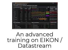 Training Session - An advanced training on EIKON / Datastream